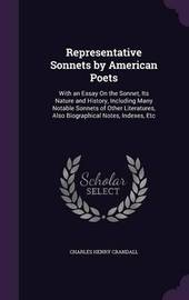 Representative Sonnets by American Poets by Charles Henry Crandall image