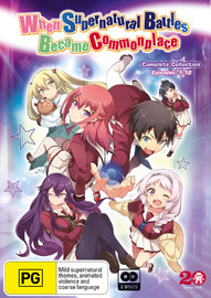 When Supernatural Battles Became Commonplace : Complete Series DVD