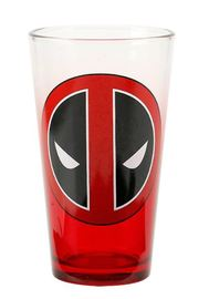 Marvel: Deadpool Logo - Pint Glass