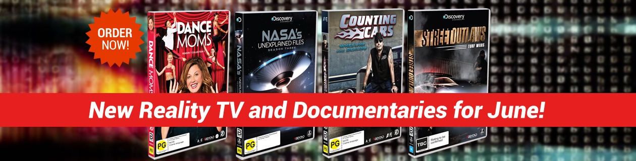 New Reality TV and Documentaries for June!