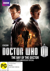 Doctor Who: The Day of the Doctor on DVD