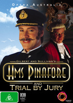 HMS Pinafore/ Trial by Jury on DVD