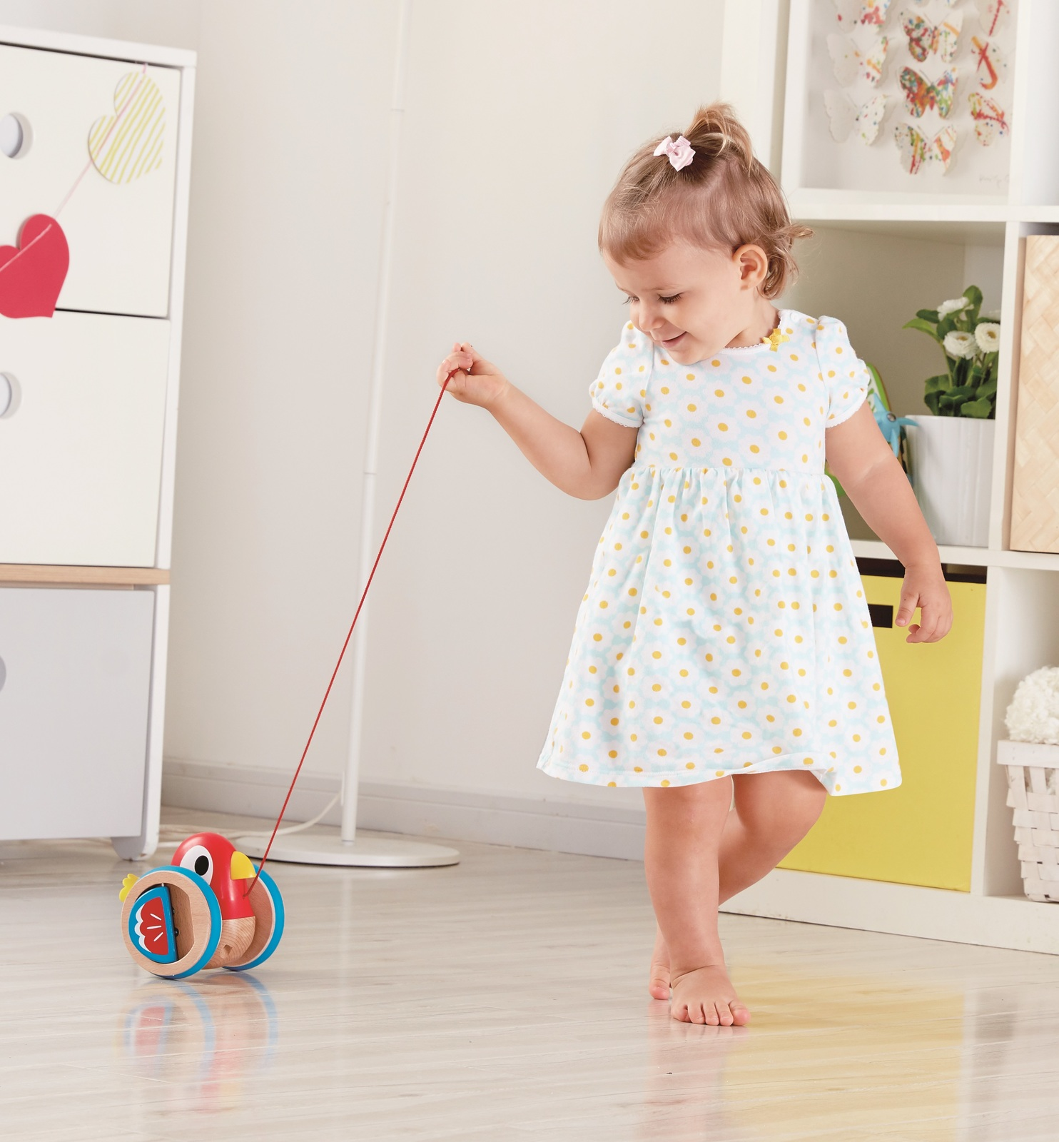 Hape: Baby Bird - Pull Along Toy image