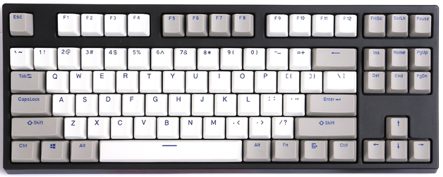KBParadise VX80 MX Blue TKL Mechanical Keyboard Olivette Neo