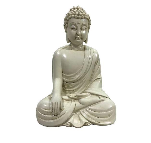 Buddha Resting Ornament (Cream)