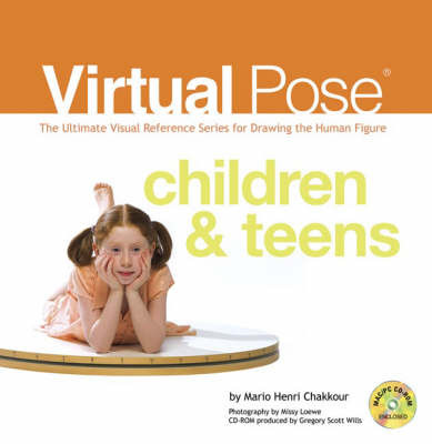 Children and Teens: The Ultimate Visual Reference Series for Drawing the Human Figure by Mario H. Chakkour image