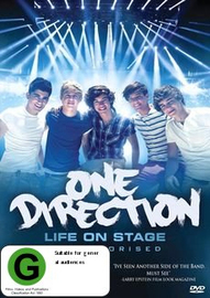 One Direction - Live on Stage (Unauthorised Biography) on DVD