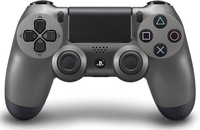 PlayStation 4 Dual Shock 4 Wireless Controller - Steel Black for PS4
