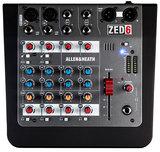 ZED-6 Comapact 6 Input Analogue Mixer
