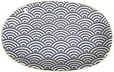 Black Village Kiln Ceramic Oval Platter - Small
