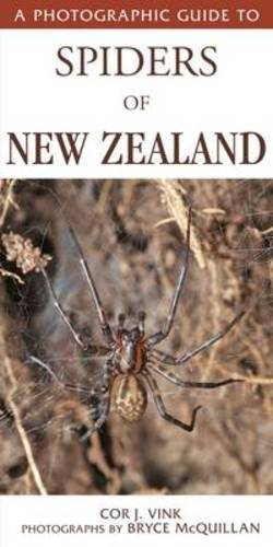 Photographic Guide to Spiders of New Zealand by Cor J. Vink