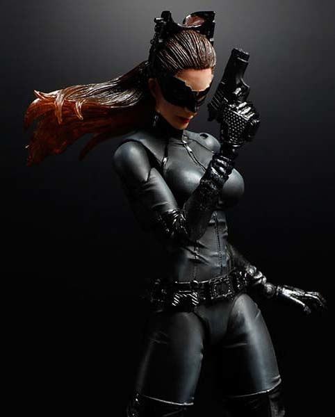 Batman The Dark Knight Rises Catwoman Selina Kyle Action Figure - Play Arts Kai