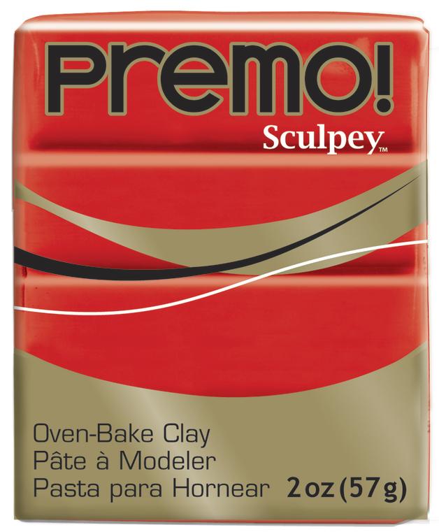 Sculpey Premo Cadmium Red Hue (57g)