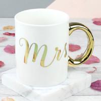 Mrs Gold Mug