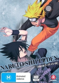 Naruto Shippuden - Collection 37 (eps 473-486) on DVD image
