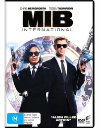 Men In Black: International on DVD image