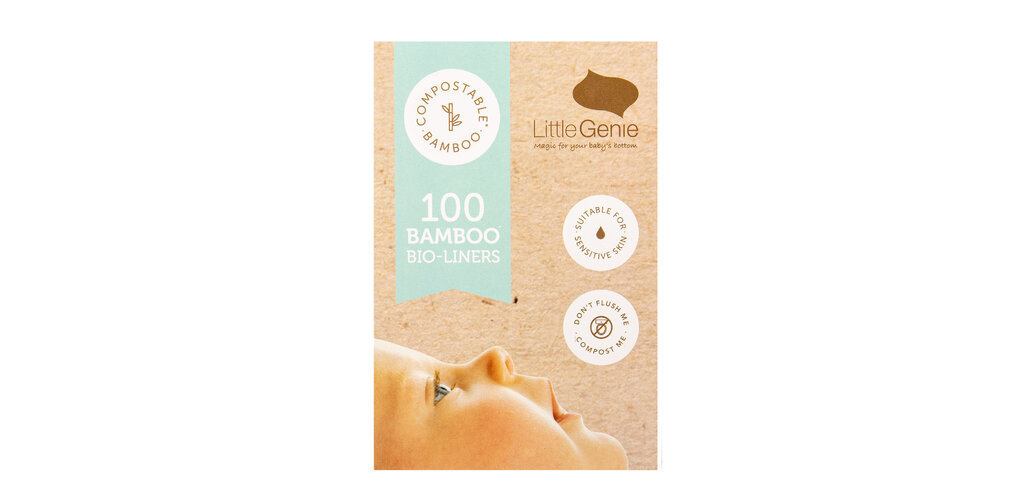Little Genie Bamboo Liners - 100s image