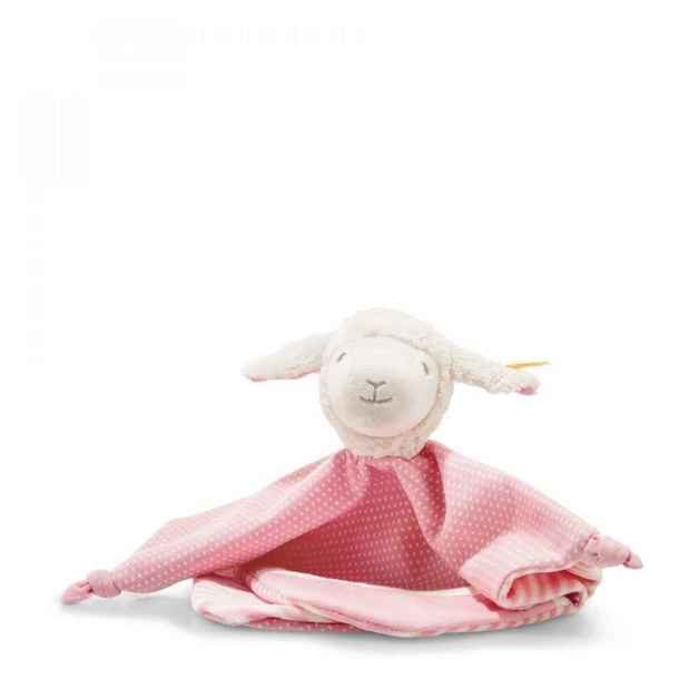 Steiff:Liena Lamb Comforter - White/Pink