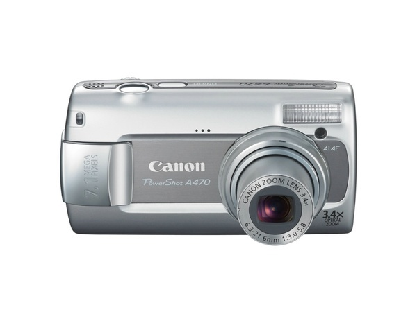 Canon A470 7.1Mp 3.4X Optical Digital Camera + FREE 1gig Memory Card and Carry Case