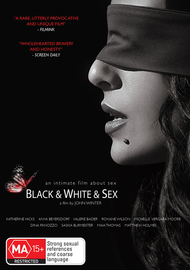 Black & White & Sex on DVD