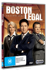 Boston Legal - Season 1 (5 Disc Set) on DVD image