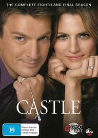 Castle - The Complete Eighth and Final Season on DVD image