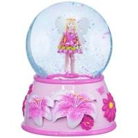 Pink Poppy: Fairy Flower - Musical Snow Globe