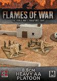 Flames of War: Afrika Korps - 8.8cm Heavy AA Platoon