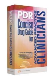 PDR Concise Drug Guide for Advanced Practice Clinicians by PDR Staff image