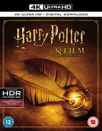 Harry Potter: The Complete 8 Film Collection on UHD Blu-ray