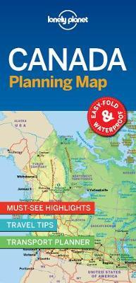Canada Planning Map by Lonely Planet image