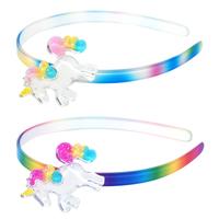 Pink Poppy: Unicorn Headband - (Assorted Colours)