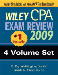 Wiley CPA Exam Review: 2009 by Patrick R. Delaney image