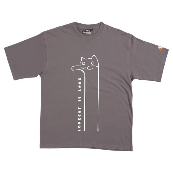 Longcat - Tshirt (Steel) for