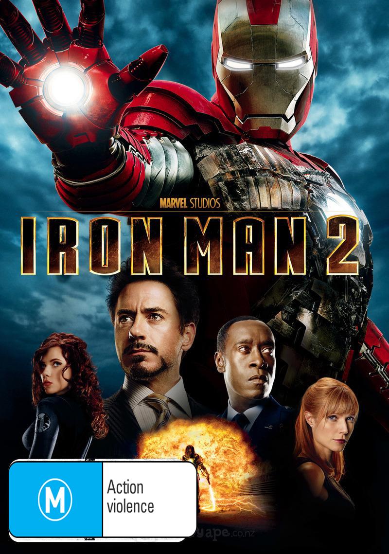 Iron Man 2 on DVD image