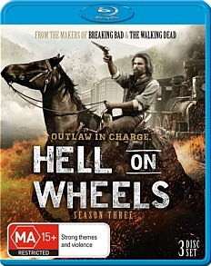 Hell On Wheels - The Complete Third Season on Blu-ray