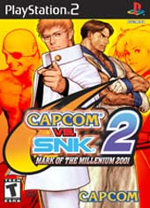Capcom vs SNK 2 for PS2