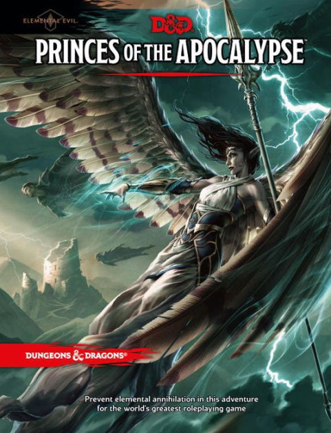 Dungeon & Dragons Elemental Evil: Princes of the Apocalypse by Wizards RPG Team image