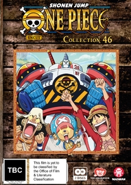 One Piece (Uncut) - Collection 46 (Eps 553 - 563) on DVD