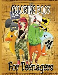 Coloring Book - For Teenagers by Alex Dee