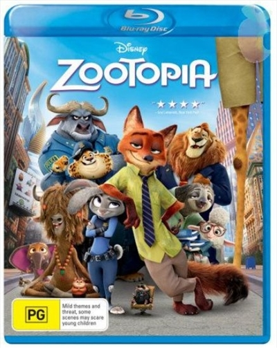 Zootopia on Blu-ray image