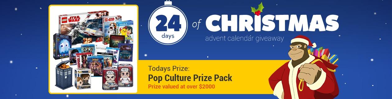 24 Days: Pop Culture Prize Pack