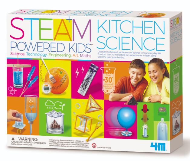 4M STEAM: Powered Kids - Kitchen Science Kit