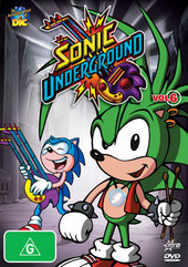 Sonic Underground V6 on DVD