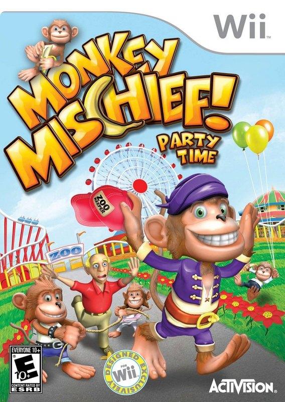 Monkey Mischief for Nintendo Wii