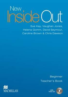 New Inside Out: Teacher's Book with Test CD Pack: Beginner by Adrian Tennant image