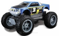 Maisto Rock Crawler Junior 4WD R/C Vehicle - Blue