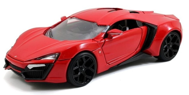 1/24 Dom's Lykan Hypersport - Diecast Model | at Mighty Ape NZ