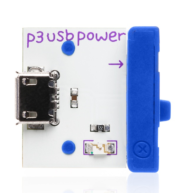 LittleBits: P3 USB - Power Bit