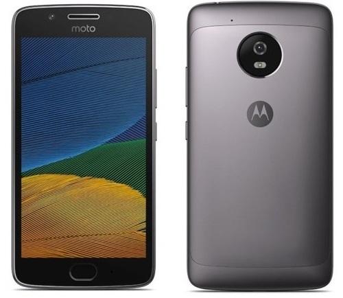 Motorola Moto G5 Plus Smartphone 16GB Grey image